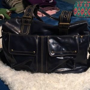 Aldo Tote Faux Leather great condition